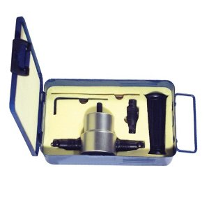Double End Sheet Metal Nibbler with Metal Storage Case