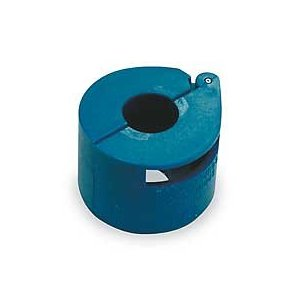 Westward 1YMG7 Spring Lock Coupler, A/C, 1/2 In Coupler