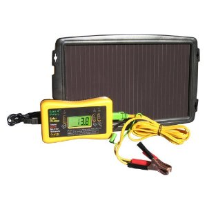 Save A Battery 2581 2-Watt 12-Volt Solar Battery Charger and Maintainer