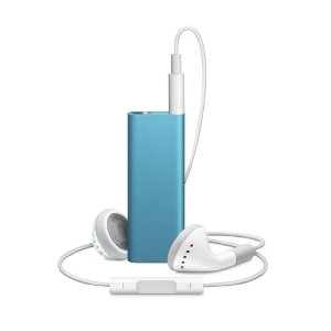Apple iPod shuffle 4 GB Blue (4th Generation) NEWEST MODEL