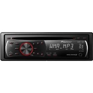 Pioneer DEH-1200MP CD Receiver with MP3/WMA Playback and Remote Control