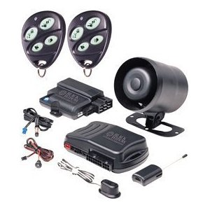 Black Widow BWZ1 Vehicle Security System with Remote Start and Keyless Entry