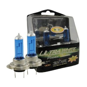 Absolute WH7 (H7) 1 pair HID Style High Performance Halogen Light Bulb