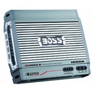 Boss NX1600.2 1600 Watt 2-Channel Mosfet Bridgeable Amplifier with Remote