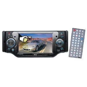 PYLE PLD45MU 4.5'' TFT Touch Screen Monitor w/DVD/VCD/USB/SD/MP3/CD Player & AM/FM/RDS Radio