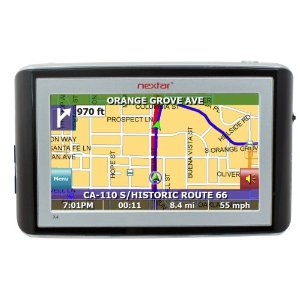 Nextar X4-T 4.3-Inch Portable GPS Navigator with MP3 Player
