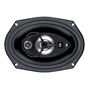 BOSS SE695  6-Inch x 9-Inch 5-Way 4-Ohm  Black Poly Injection Cone Speaker
