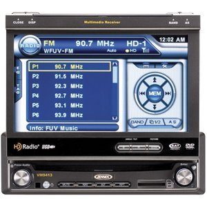 Jensen VM9413  7-inch Touch Screen MultiMedia Receiver