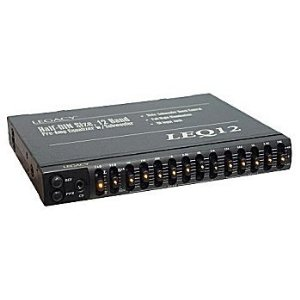 Legacy LEQ12A 12 Band PreAmp Equalizer with Subwoofer Boost Control