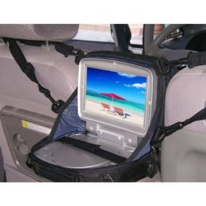 TrendyDigital Portable DVD Case / In-Car DVD Player Case for up to 10