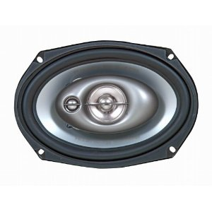Great Buy! Power Acoustk  KP-69  6?x9? 3 way speakers, 360 watts, 25 oz magnet, Butyl Rubber Surround
