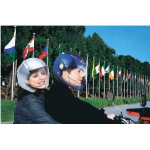 New! helmet to helmet Motorcycle Intercom Headsets