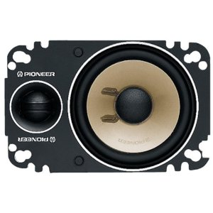Pioneer Tsp462 4 X 6 2-Way Component Plate Speakers