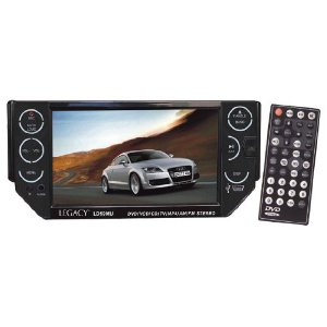 Legacy LD59MU 5.5-Inch TFT Motorized Touch Screen Monitor AM/FM Radio CD/VCD/MP3/DVD/USB/SD Reader with Detachable Face