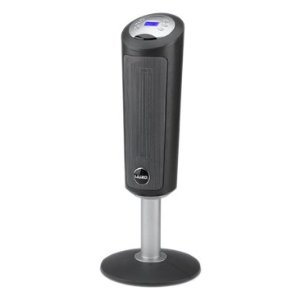 Lasko 5365 30-Inch Digital Space-Saving Ceramic Pedestal Heater with Remote Control
