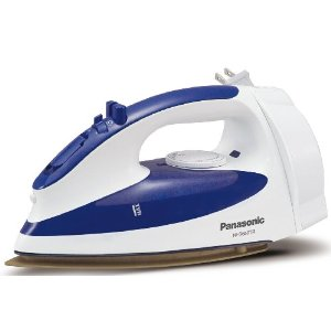 Panasonic NI-S650TR 1200-Watt Steam Iron with Curved Titanium-Coated Soleplate