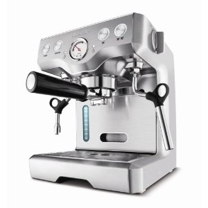 Breville BES820XL Die-Cast 15-Bar Programmable Espresso Machine