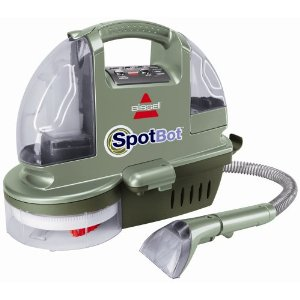 Bissell Remanufactured SpotBot Hands-Free Compact Deep Carpet Cleaner, 1200R