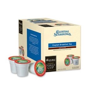 Keurig K-Cup Coffees & Teas Celestial Seasonings English Breakfast K-Cups 18-pc.