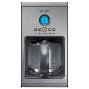 Krups KM1000 10-Cup Stainless-Steel Coffeemaker