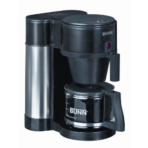 BUNN NHBX-B(D) Generation High Altitude10-Cup Home Pourover Coffee Brewer, Black