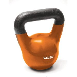Valeo 15-Pound Kettle Bell Weight