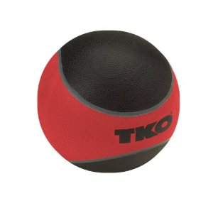 TKO 509RMB Rubberized Medicine Ball 12 lbs