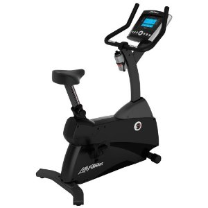 Life Fitness C1 Upright LifeCycle with Advanced Console