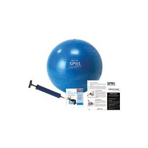 SPRI SB55VC 55cm Total Body Xercise Ball