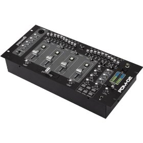 Professional 4-CHANNEL Rack-mount Dj Mixer with Sound Effects