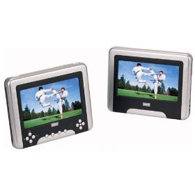 RCA DRC630 - Dual 7 Screens with 30 Games