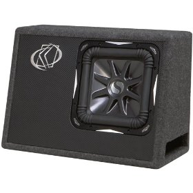 Kicker 08VS12L72 Solo-Baric L7 12-Inch 2-Ohm Subwoofer In Vented Box
