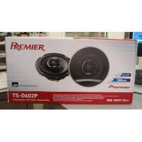 Pioneer TS-D602P 6.5-Inch 2-Way 260W Car Speakers (Pair)