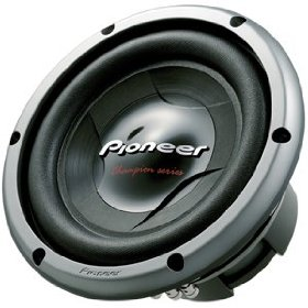 Pioneer TSW258D4 10-Inch D4 Regular Core Subwoofer
