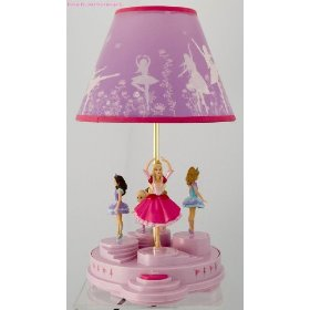 Barbie Dancing Music Animated Lamp