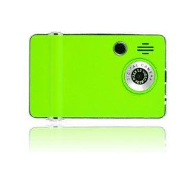 Ematic 4GB Video MP3 Player with 2.4-Inch QVGA Screen, Digital Camera and Video Recorder (Green)