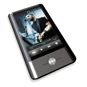 Coby MP837-8GBLK 3-Inch Touchscreen Video MP3 Player, 8 GB Flash Memory (Black)