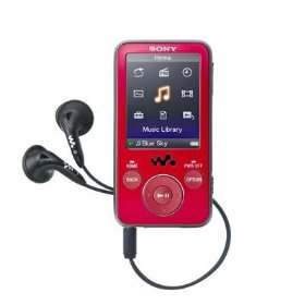 Sony 8 GB Walkman Video MP3 Player (Red)