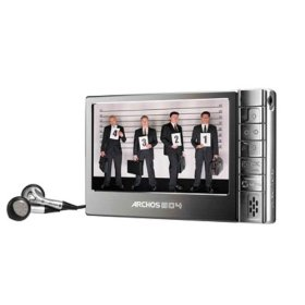 Archos 604 30 GB Ultraslim Portable Digital Media Player and Recorder (500860)