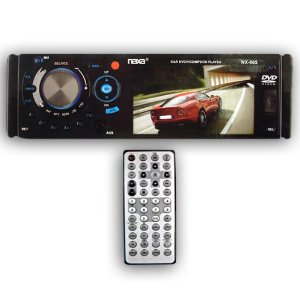 Naxa NX-123 Portable Media Player with 1.8 Color Lcd Screen, Built-in 1gb Flash Memory & Pll/digital Fm Radio (Black)