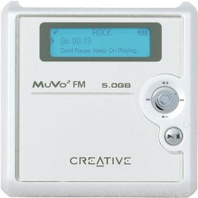 Creative Labs Nomad MuVo� FM 5GB MP3 Player