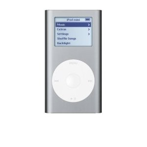 Apple iPod Mini 4 GB Silver