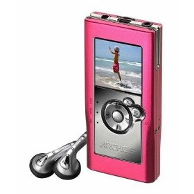 Archos Gmini XS100 4 GB Pocket Music Player (Pink)