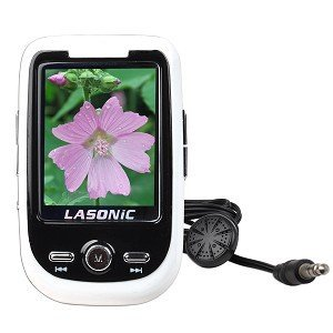 Lasonic VP-02GL 2GB USB MP3 Digital Music/Video FM Player & Voice Recorder w/1.8