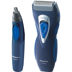 Panasonic es4026cmb shaver nose trimmer combo wet dry