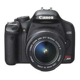 Canon Digital Rebel XSi 12.2 MP Digital SLR Camera with EF-S 18-55mm f/3.5-5.6 IS Lens (Black)