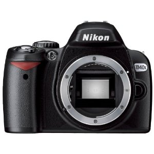 Nikon D40X 10.2MP Digital SLR Camera (Body Only)
