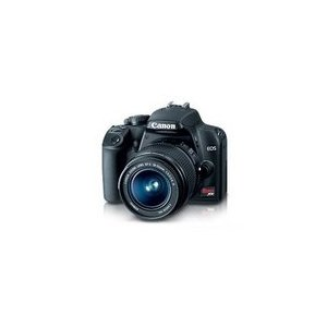 Canon EOS Rebel XS Digital SLR Camera, with EFS 18-55mm IS Lens - Black - Refurbished
