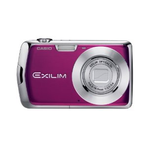 Casio Exilim EX-S5 10MP Digital Camera with 3x Optical Zoom and 2.7 inch LCD (Purple)