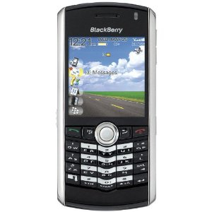 BlackBerry Pearl 8100 Unlocked Phone with Quad-Band GSM,GPRS, EDGE, 1 MP Camera, Camcorder, and Bluetooth--International Version with No Warranty (Black with Silver)